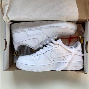 Nike Air Force 1 -Custom OFF WHITE one Strap